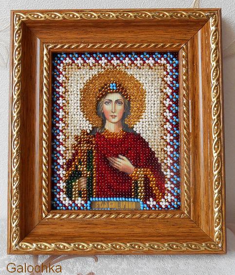 Икона святая мученица Ирина