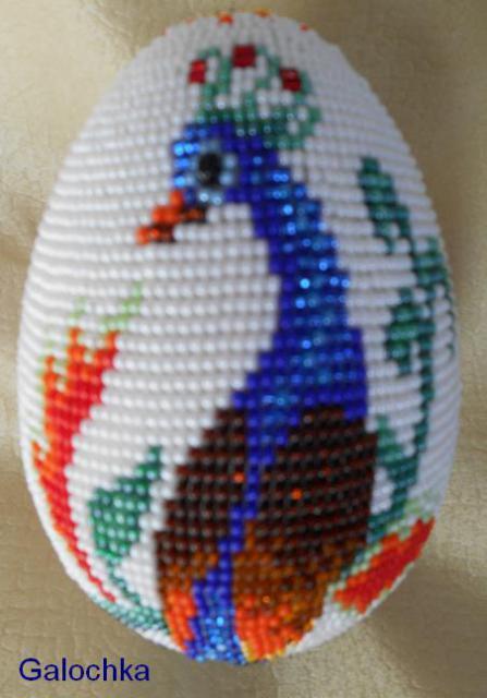 "Яйцо сувенирное ""Павлин"""