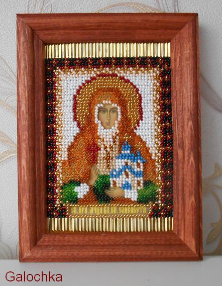 Икона Преподобной мученицы Великой княгини Елизаветы.