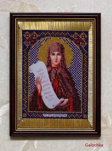 Икона святой преподобной Аполлинарии.