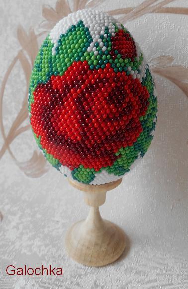 "Яйцо сувенирное ""Розы"""